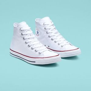 NWT White Converse Hightop Sneakers! (Size 9)